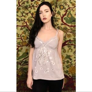 ✨🌿INC Sexy Embellished Baby Doll Tank!🌿✨